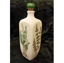 Ozdobna butelka ceramiczna Ulmer Keramik