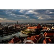 """Fotografia Wrocław """"Panorama miasta – widok z wieży Katedry"""""""
