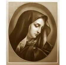 "Fotografia religijna ""Portret Maryi"". Sepia."