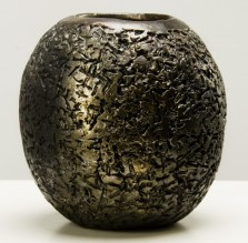Misa ceramiczna wypalona w technice raku