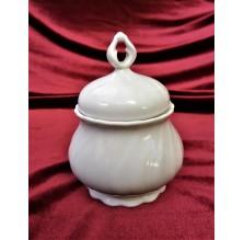 Elegancka porcelanowa cukiernica z wieczkiem Seltmann Weiden Bavaria