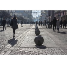 """Fotografia Wrocław """"Kule na ul. Świdnickiej"""""""