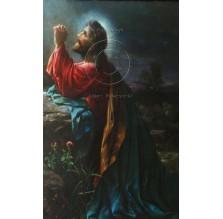 """Fotografia religijna """"Jezus w Ogrójcu"""". Kolorowa."""