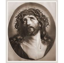 """Fotografia religijna """"Portret Jezusa"""". Sepia2."""