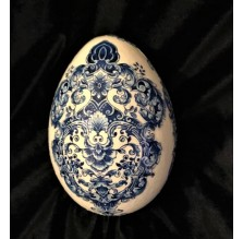 Pisanka, styropianowe jajo wielkanocne 17 cm. Technika: hand made