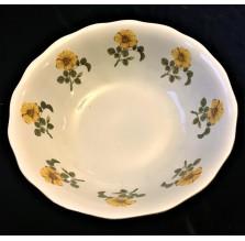 Salaterka w kwiatuszki. Porcelana Karolina