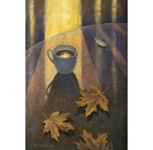 """Obraz """" Kawa z posmakiem jesieni"""""""