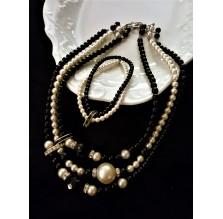Komplet biżuterii firmy Jablonex