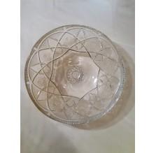 Ogromna kryształowa owocjera