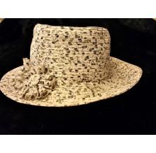 Elegancki retro kapelusik Damy